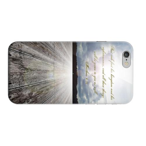 Geeks Designer Line (GDL) Apple iPhone 6 Matte Hard Back Cover - Matthew 6:33