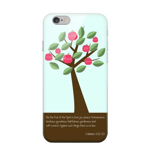 Geeks Designer Line (GDL) Apple iPhone 6 Matte Hard Back Cover - Galatians 5:22-23