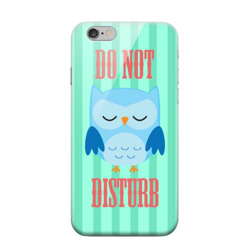 Geeks Designer Line (GDL) Apple iPhone 6 Matte Hard Back Cover - Do Not Disturb