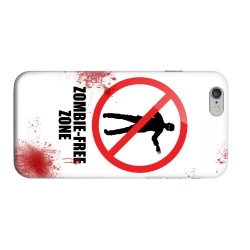 Geeks Designer Line (GDL) Apple iPhone 6 Matte Hard Back Cover - Zombie-Free Zone