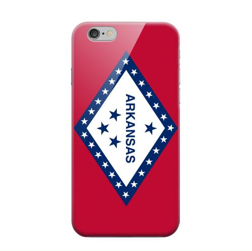 Geeks Designer Line (GDL) Apple iPhone 6 Matte Hard Back Cover - Arkansas