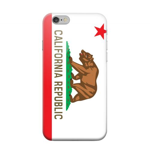 Geeks Designer Line (GDL) Apple iPhone 6 Matte Hard Back Cover - California