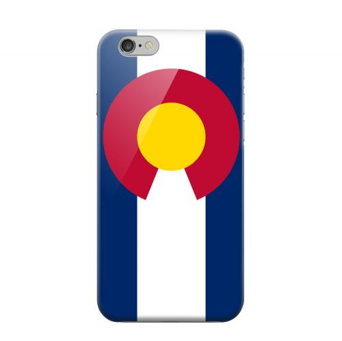 Geeks Designer Line (GDL) Apple iPhone 6 Matte Hard Back Cover - Colorado