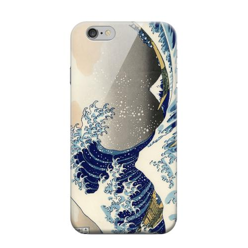 Geeks Designer Line (GDL) Apple iPhone 6 Matte Hard Back Cover - Katsushika Hokusai The Great Wave Off Kanagawa
