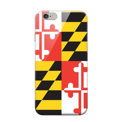 Geeks Designer Line (GDL) Apple iPhone 6 Matte Hard Back Cover - Maryland
