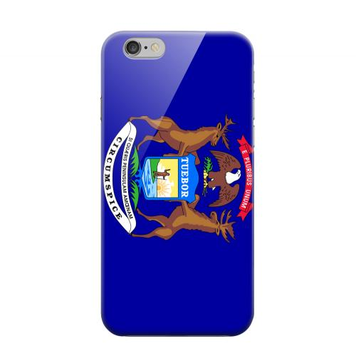 Geeks Designer Line (GDL) Apple iPhone 6 Matte Hard Back Cover - Michigan