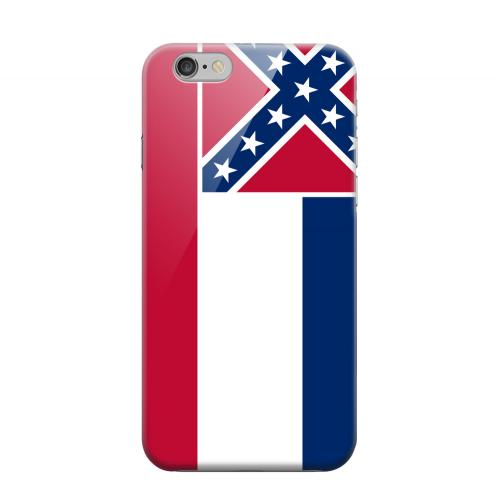 Geeks Designer Line (GDL) Apple iPhone 6 Matte Hard Back Cover - Mississippi