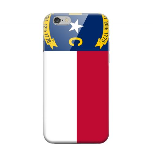 Geeks Designer Line (GDL) Apple iPhone 6 Matte Hard Back Cover - North Carolina