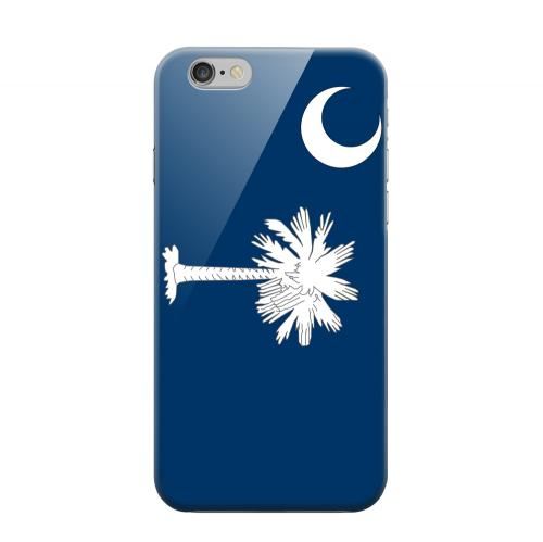 Geeks Designer Line (GDL) Apple iPhone 6 Matte Hard Back Cover - South Carolina