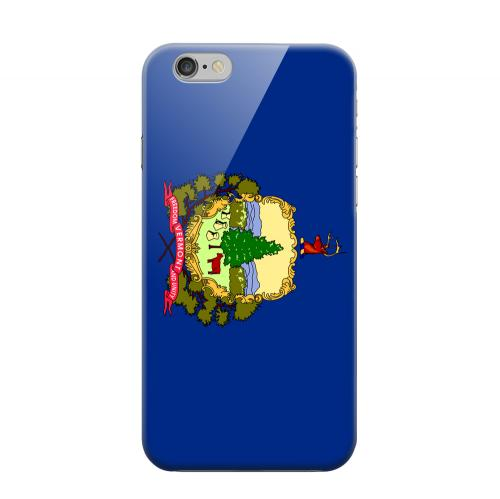 Geeks Designer Line (GDL) Apple iPhone 6 Matte Hard Back Cover - Vermont