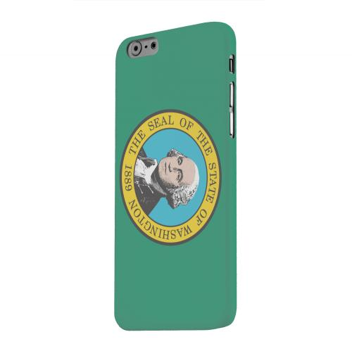 Geeks Designer Line (GDL) Apple iPhone 6 Matte Hard Back Cover - Washington