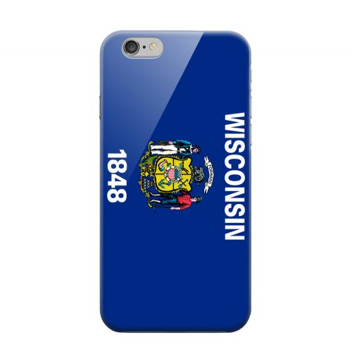 Geeks Designer Line (GDL) Apple iPhone 6 Matte Hard Back Cover - Wisconsin