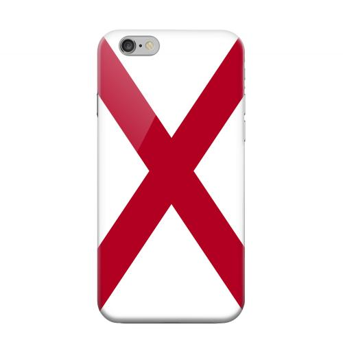 Geeks Designer Line (GDL) Apple iPhone 6 Matte Hard Back Cover - Alabama
