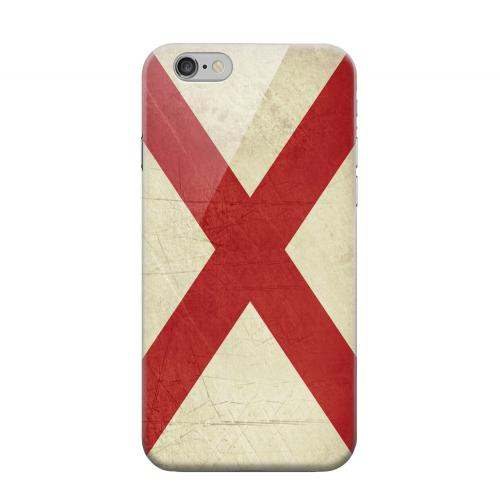 Geeks Designer Line (GDL) Apple iPhone 6 Matte Hard Back Cover - Grunge Alabama