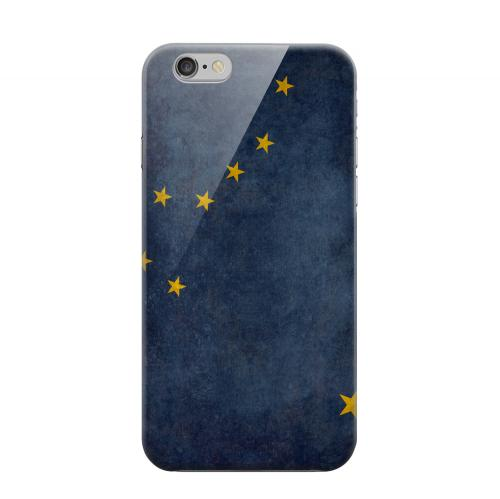 Geeks Designer Line (GDL) Apple iPhone 6 Matte Hard Back Cover - Grunge Alaska