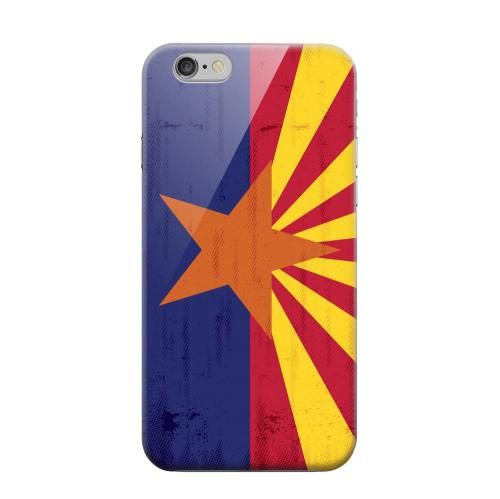 Geeks Designer Line (GDL) Apple iPhone 6 Matte Hard Back Cover - Grunge Arizona