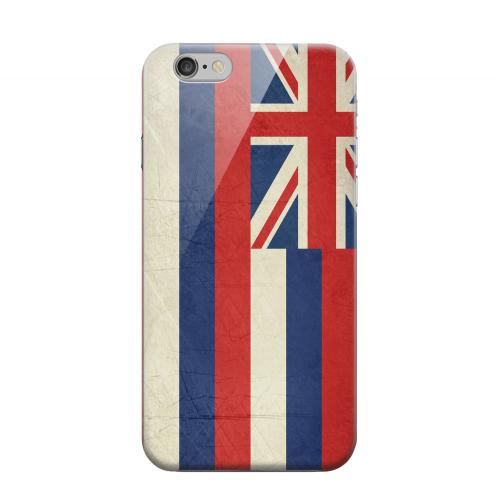 Geeks Designer Line (GDL) Apple iPhone 6 Matte Hard Back Cover - Grunge Hawaii