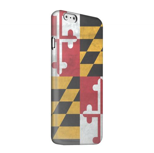 Geeks Designer Line (GDL) Apple iPhone 6 Matte Hard Back Cover - Grunge Maryland
