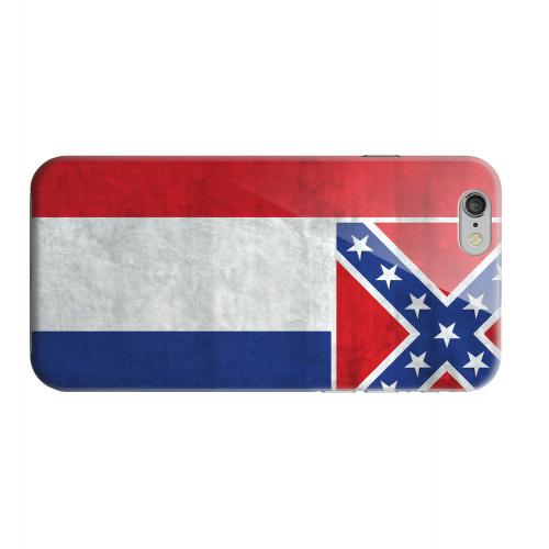 Geeks Designer Line (GDL) Apple iPhone 6 Matte Hard Back Cover - Grunge Mississippi