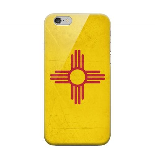 Geeks Designer Line (GDL) Apple iPhone 6 Matte Hard Back Cover - Grunge New Mexico