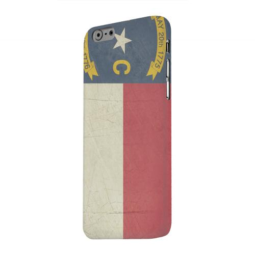 Geeks Designer Line (GDL) Apple iPhone 6 Matte Hard Back Cover - Grunge North Carolina