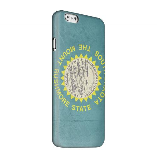 Geeks Designer Line (GDL) Apple iPhone 6 Matte Hard Back Cover - Grunge South Dakota