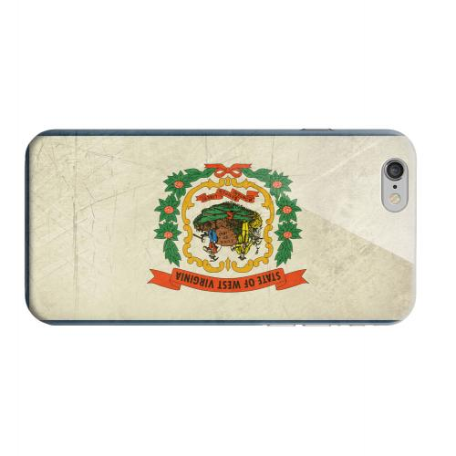 Geeks Designer Line (GDL) Apple iPhone 6 Matte Hard Back Cover - Grunge West Virginia