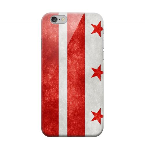 Geeks Designer Line (GDL) Apple iPhone 6 Matte Hard Back Cover - Grunge Washington, D.C.