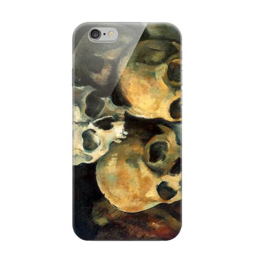 Geeks Designer Line (GDL) Apple iPhone 6 Matte Hard Back Cover - Paul Cezanne Pyramid of Skulls