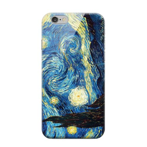 Geeks Designer Line (GDL) Apple iPhone 6 Matte Hard Back Cover - Vincent Van Gogh Starry Night