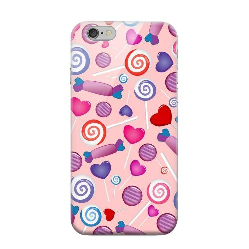 Geeks Designer Line (GDL) Apple iPhone 6 Matte Hard Back Cover - Assorted Candy