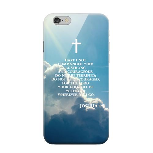Geeks Designer Line (GDL) Apple iPhone 6 Matte Hard Back Cover - Joshua 1:9