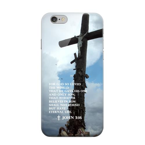 Geeks Designer Line (GDL) Apple iPhone 6 Matte Hard Back Cover - John 3:16