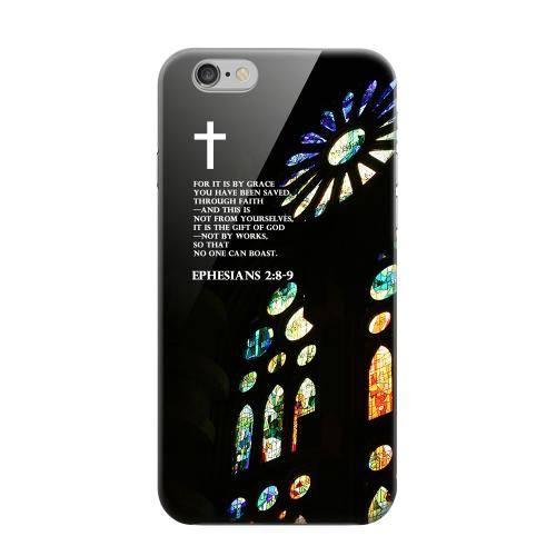 Geeks Designer Line (GDL) Apple iPhone 6 Matte Hard Back Cover - Ephesian 2:8-9