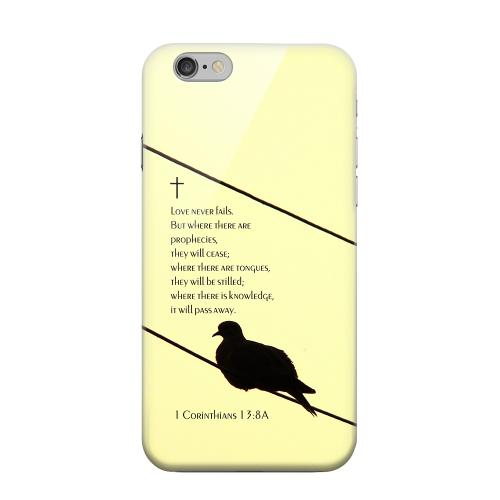 Geeks Designer Line (GDL) Apple iPhone 6 Matte Hard Back Cover - Corinthians 13:8A