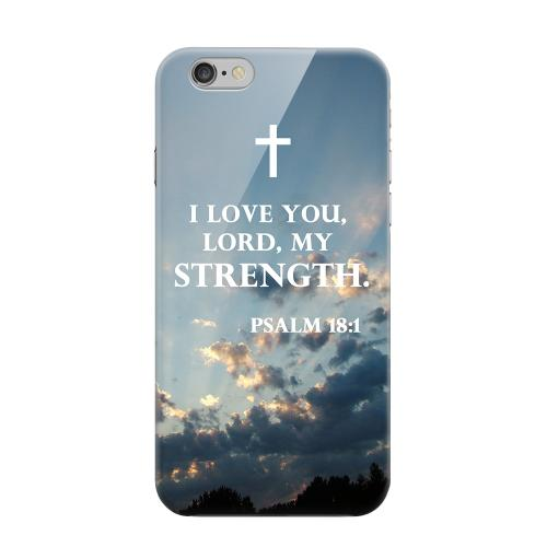 Geeks Designer Line (GDL) Apple iPhone 6 Matte Hard Back Cover - Psalm 18:1