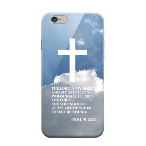 Geeks Designer Line (GDL) Apple iPhone 6 Matte Hard Back Cover - Psalm 27:1