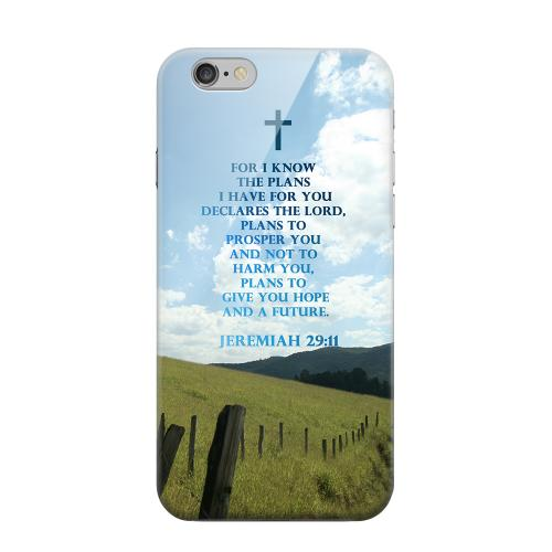 Geeks Designer Line (GDL) Apple iPhone 6 Matte Hard Back Cover - Jeremiah 29:11