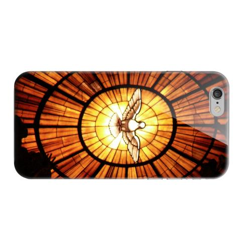 Geeks Designer Line (GDL) Apple iPhone 6 Matte Hard Back Cover - Holy Spirit Glass