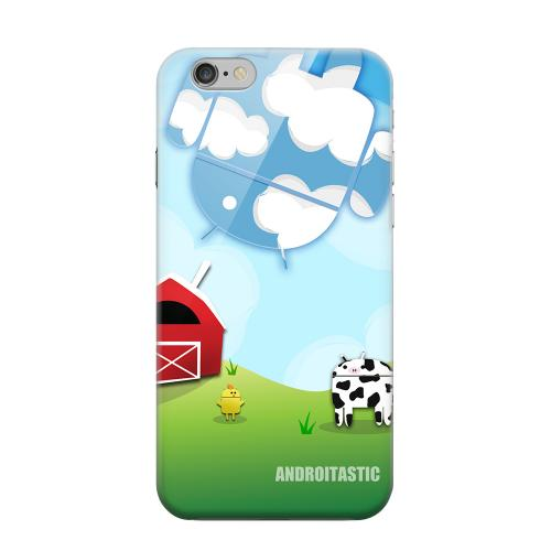 Geeks Designer Line (GDL) Apple iPhone 6 Matte Hard Back Cover - Old McDroidald Had a Farm