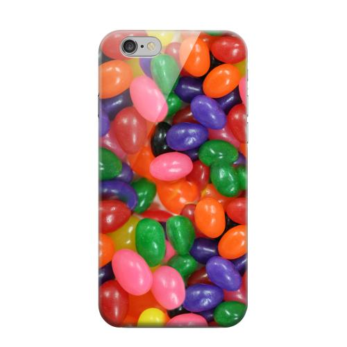 Geeks Designer Line (GDL) Apple iPhone 6 Matte Hard Back Cover - Assorted Jelly Beans