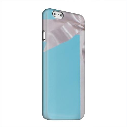 Geeks Designer Line (GDL) Apple iPhone 6 Matte Hard Back Cover - Turquoise Gift w/ White Satin Bow