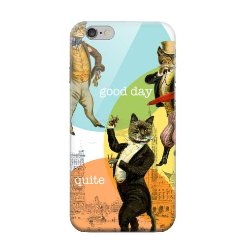 Geeks Designer Line (GDL) Apple iPhone 6 Matte Hard Back Cover - Dandy Kitties