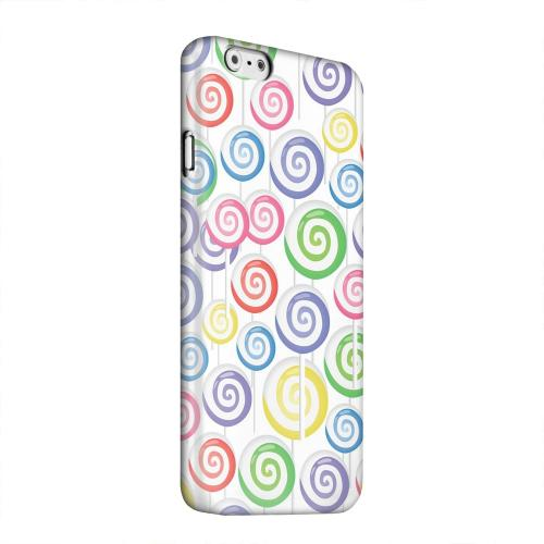 Geeks Designer Line (GDL) Apple iPhone 6 Matte Hard Back Cover - Assorted Lollipops