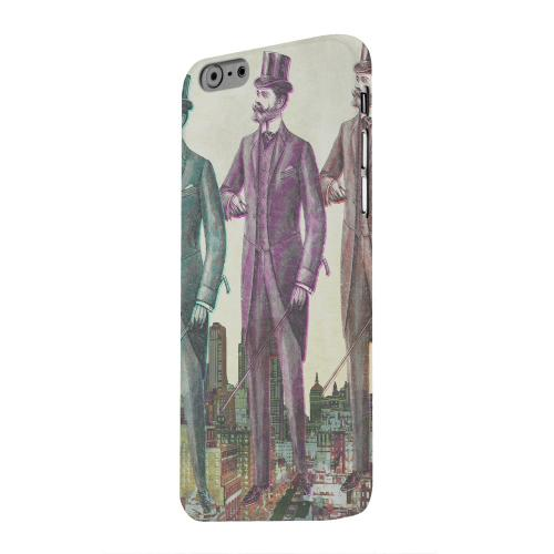 Geeks Designer Line (GDL) Apple iPhone 6 Matte Hard Back Cover - New York Like A Sir