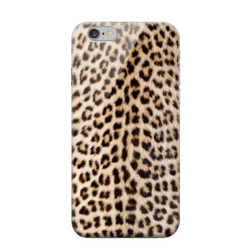 Geeks Designer Line (GDL) Apple iPhone 6 Matte Hard Back Cover - Leopard Print