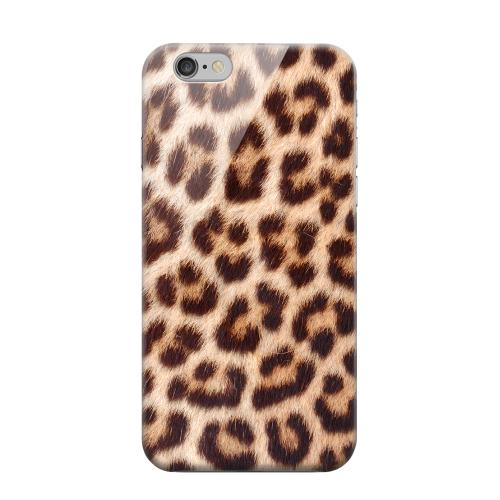 Geeks Designer Line (GDL) Apple iPhone 6 Matte Hard Back Cover - Leopard Close-Up