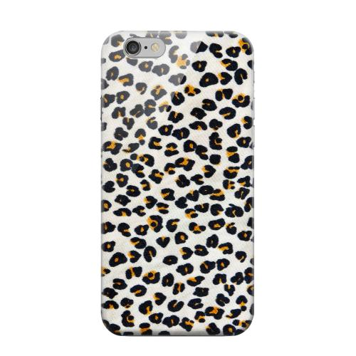 Geeks Designer Line (GDL) Apple iPhone 6 Matte Hard Back Cover - Albino Leopard Print