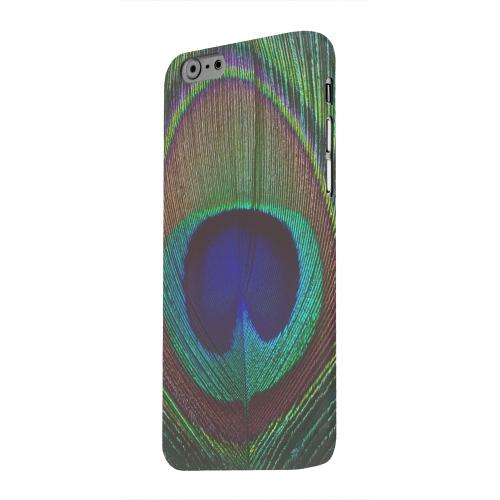 Geeks Designer Line (GDL) Apple iPhone 6 Matte Hard Back Cover - Colorful Peacock Feather