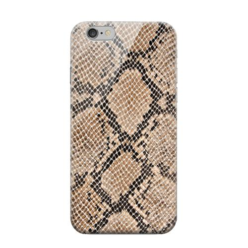 Geeks Designer Line (GDL) Apple iPhone 6 Matte Hard Back Cover - Rattlesnake Skin